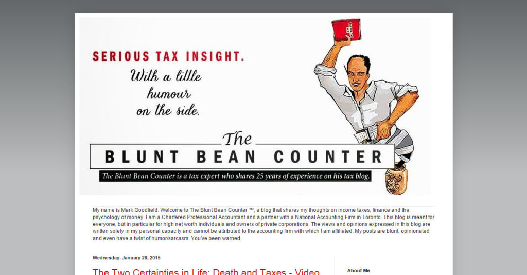 The Blunt Bean Counter