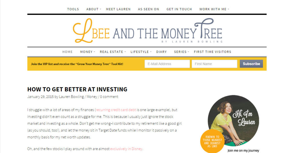 L Bee and the Money Tree