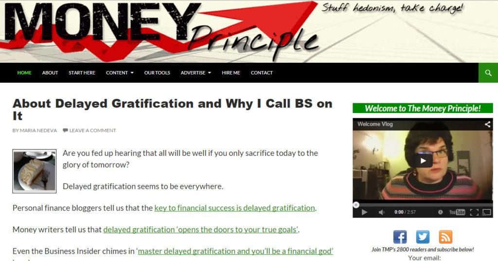 Money Principle