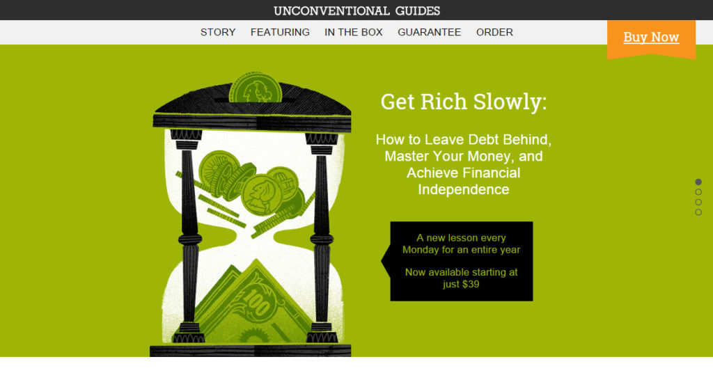 Unconventional Guide: Get Rich Slowly