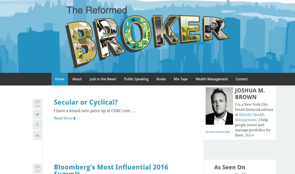 The Reformed Broker