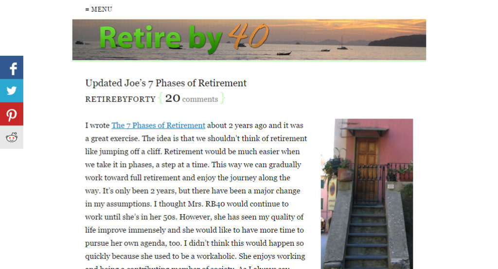 Retire Before 40