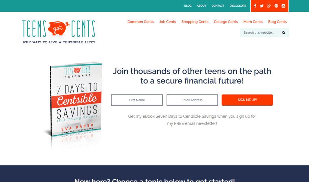 Teens Got Cents