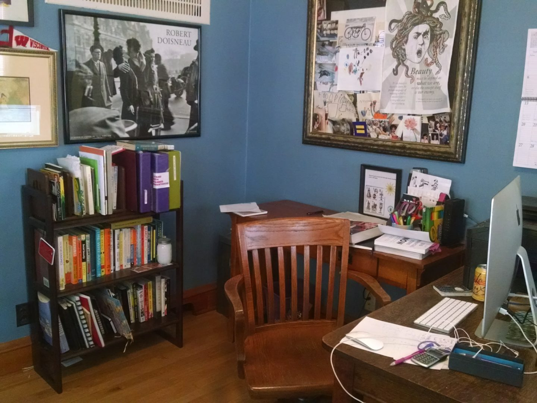 Emily writing room
