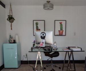 Kristin Wong writing space