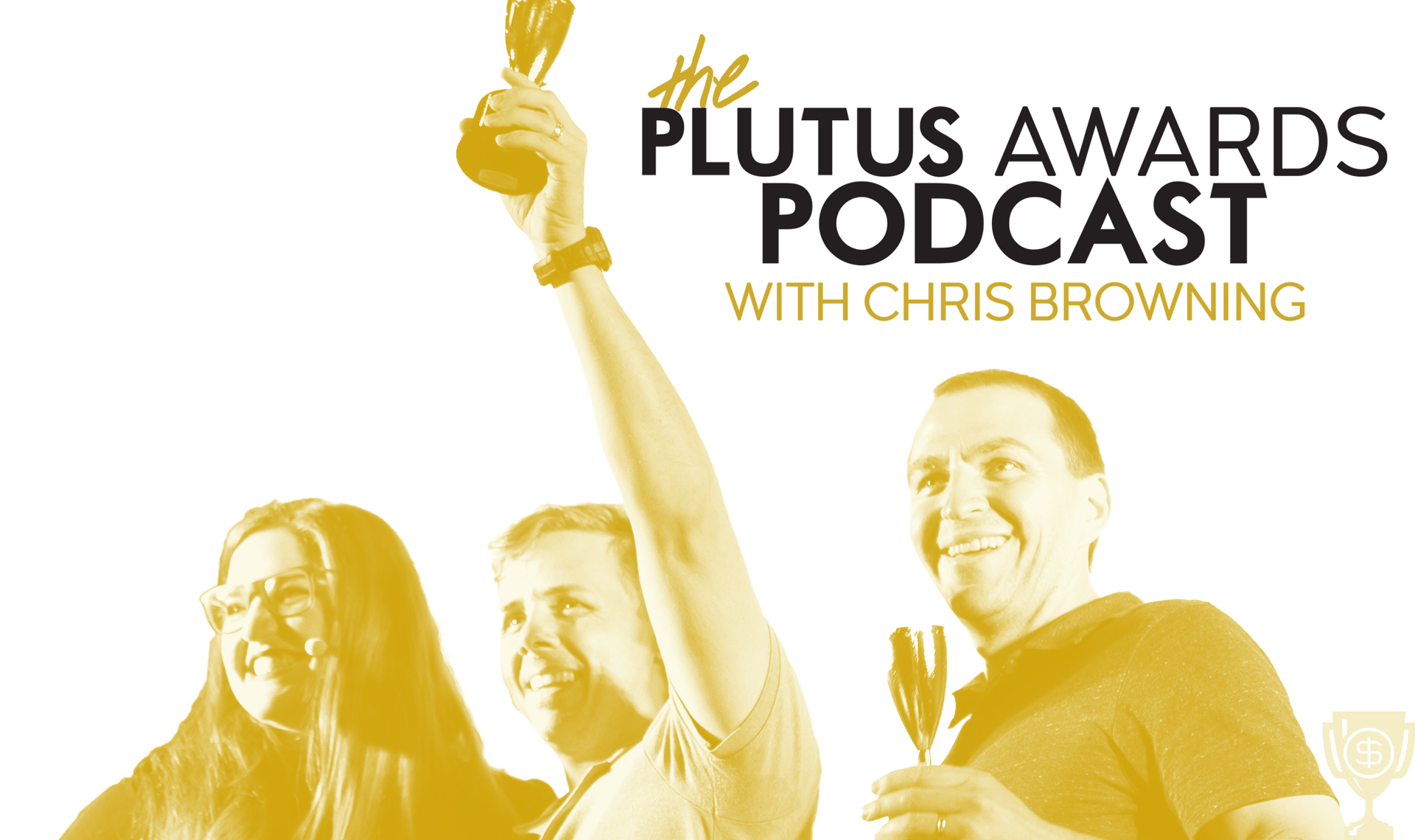 The Plutus Awards Podcast logo