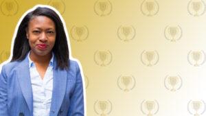 Plutus Awards Podcast - Eugenie George Featured Image