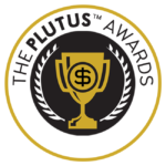 The Plutus Awards Seal Logo